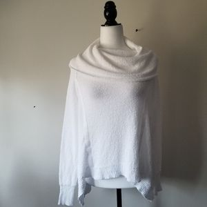 Free People sweater summer white sz S M